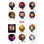 Calendario Mujeres 2018 María Fornieles